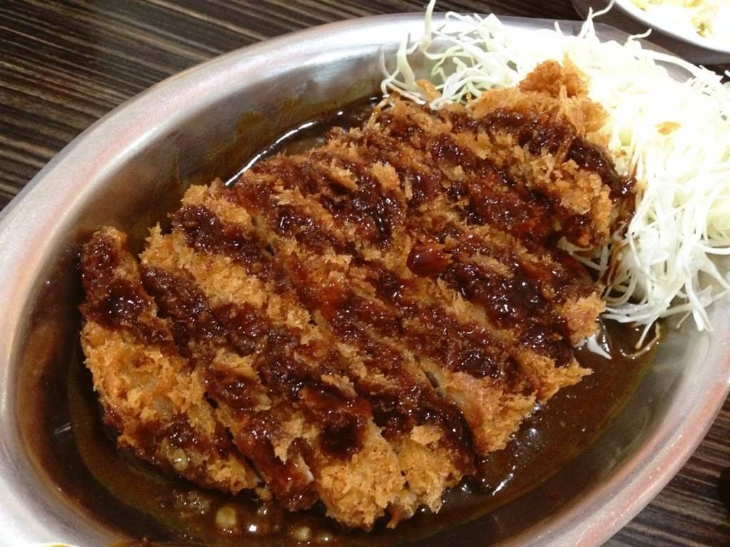 Gold Katsu Curry Rice