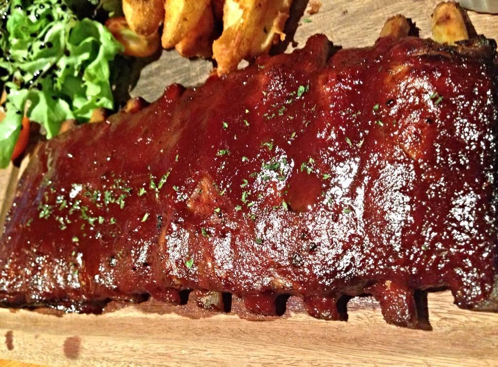 24-Hour Marinated BBQ Pork Spareribs
