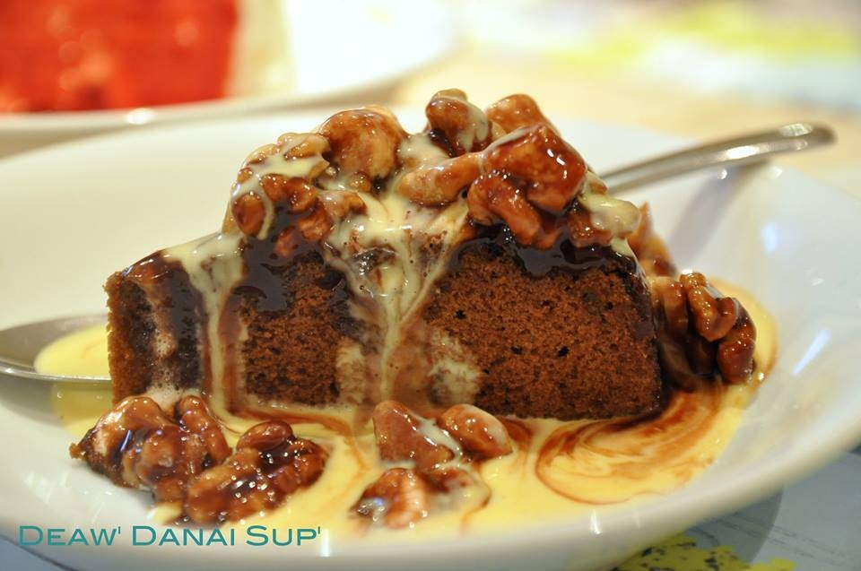Mocca Toffee Cake (130บาท)