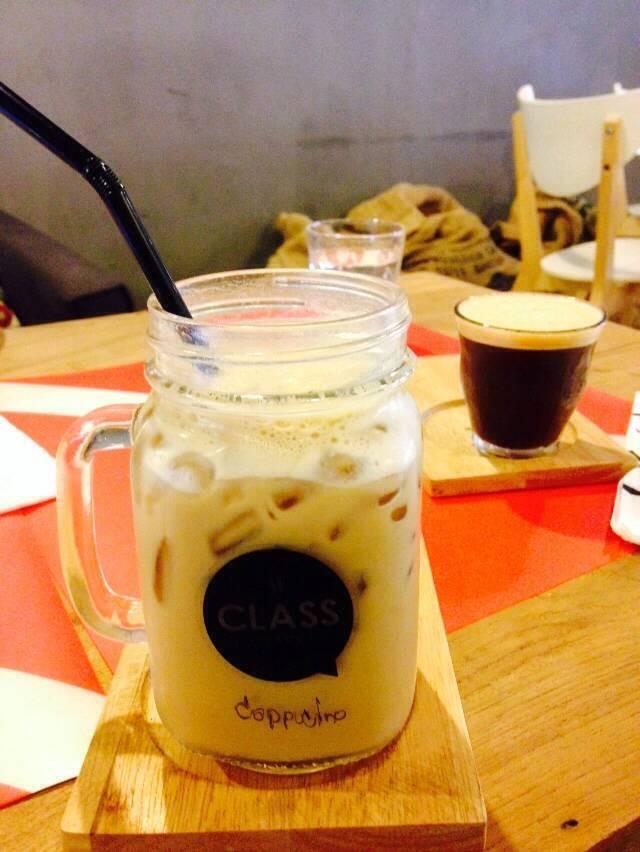 Shakerato + Class cappuccino
