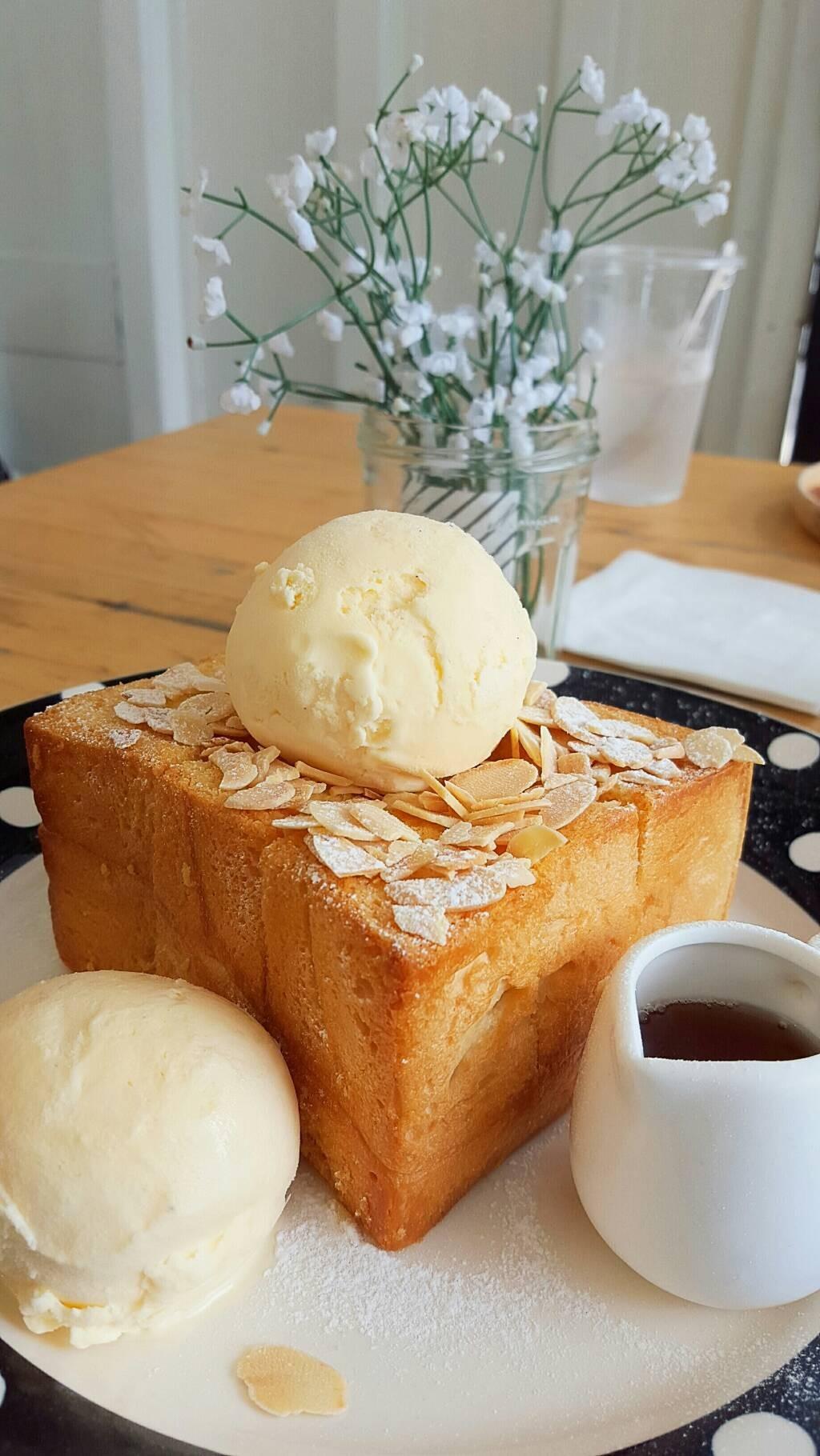 Almond Honey Toast