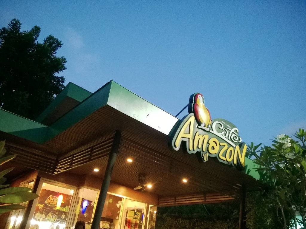 Cafe amazon PTT ลพบุรีราเมศวร์