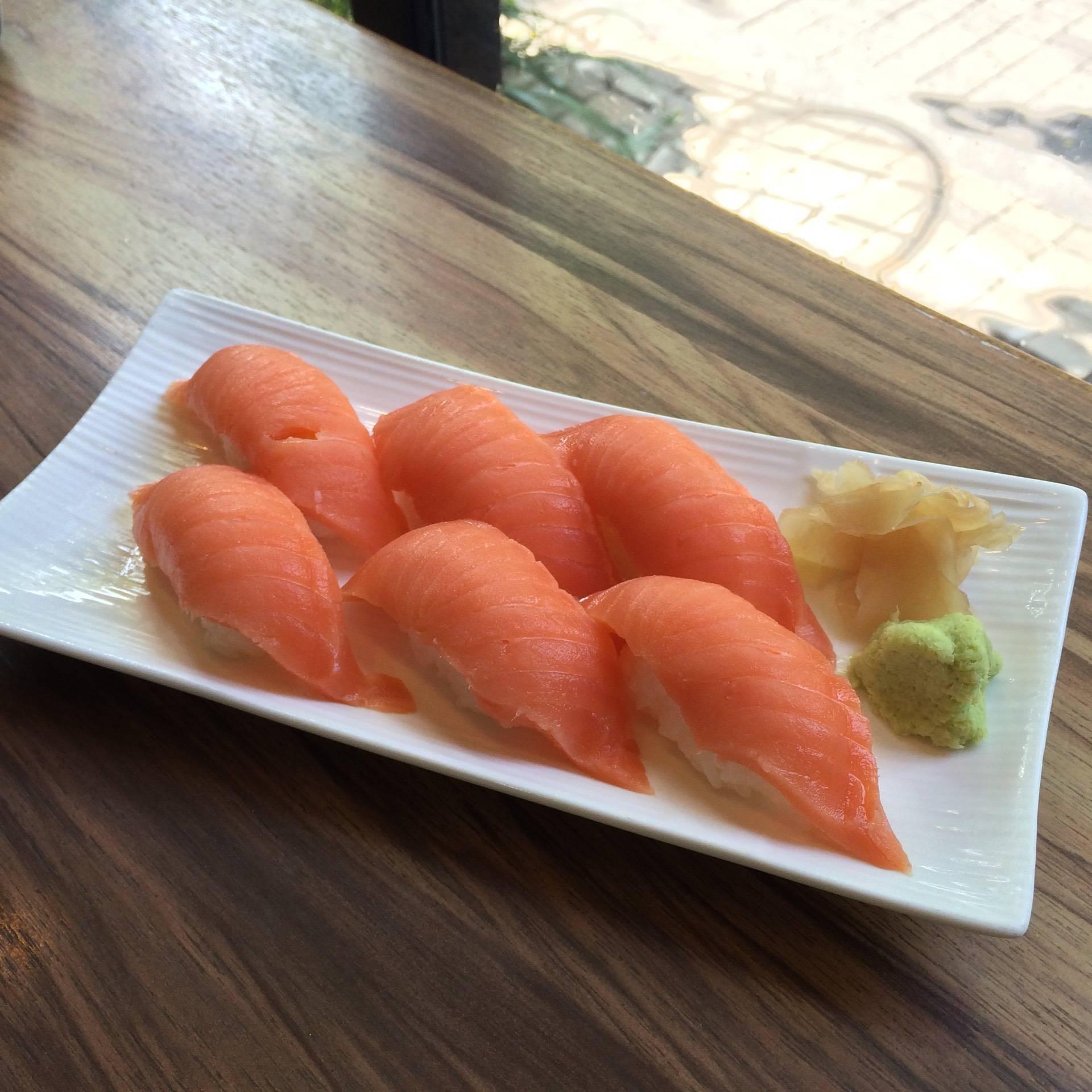 เมนูของร้าน Sakana Sushi & Sashimi