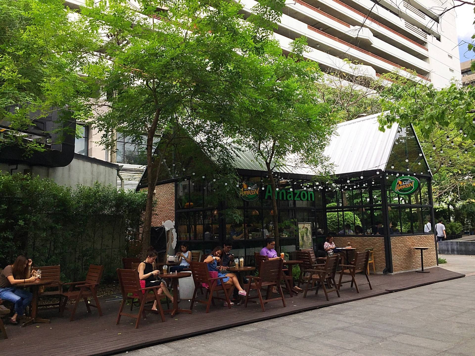 หน้าร้าน Café Amazon Park@Siam