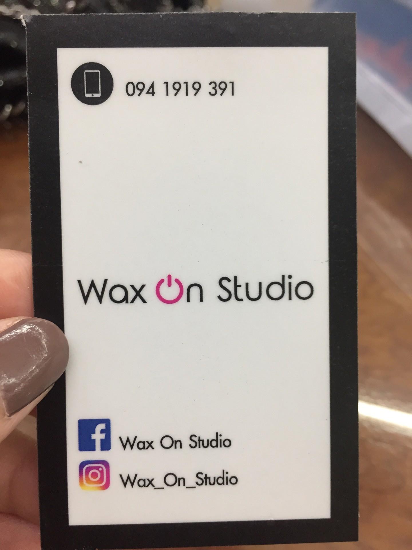 ป้ายราคาหรือสมุดเมนู • ติดต่อเลยคะ เลิศแน่นอน ที่ ร้าน Wax On Studio สุขุมวิท 26
