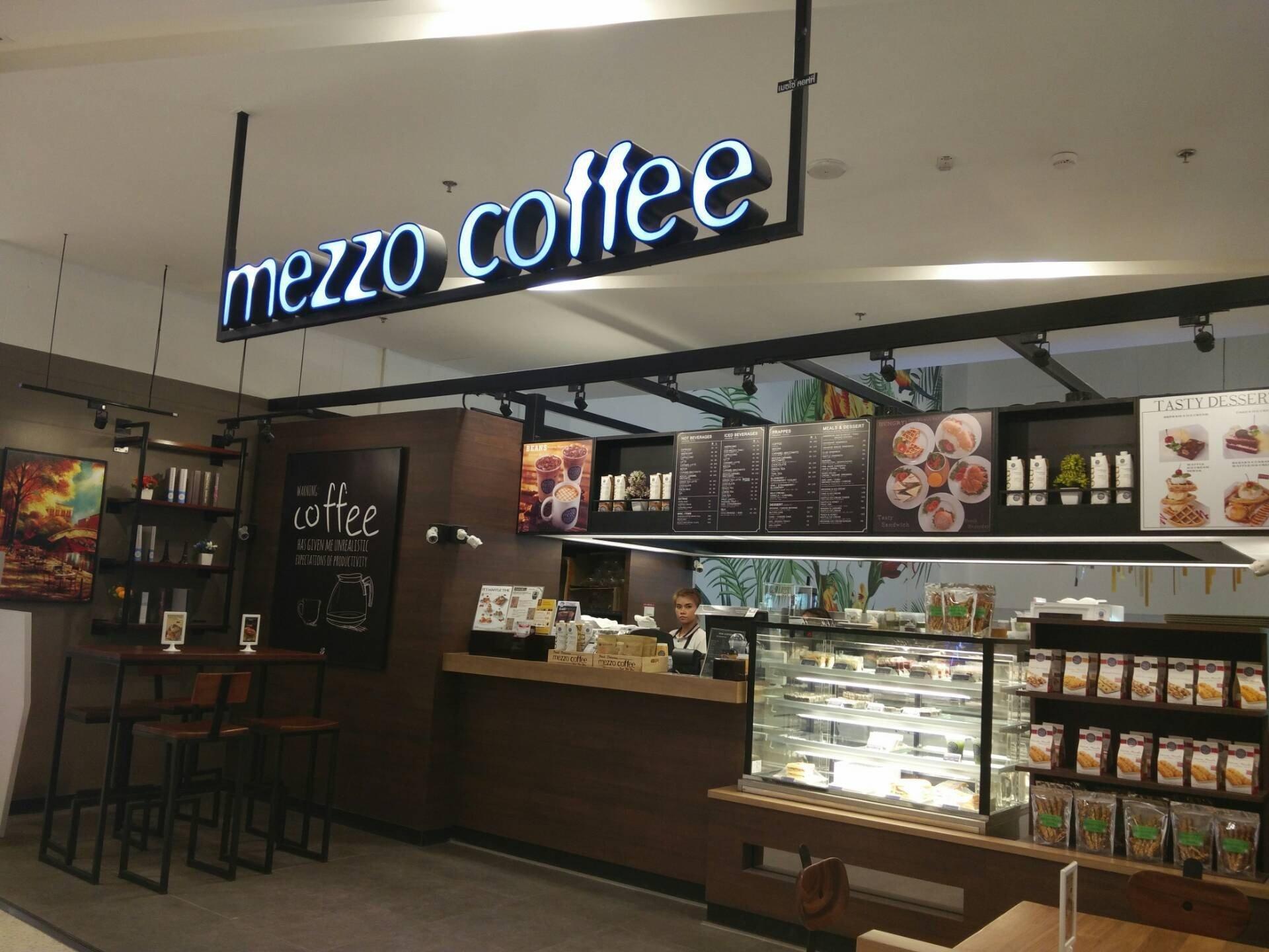 Mezzo Coffee เดอะมอลล์ โคราช