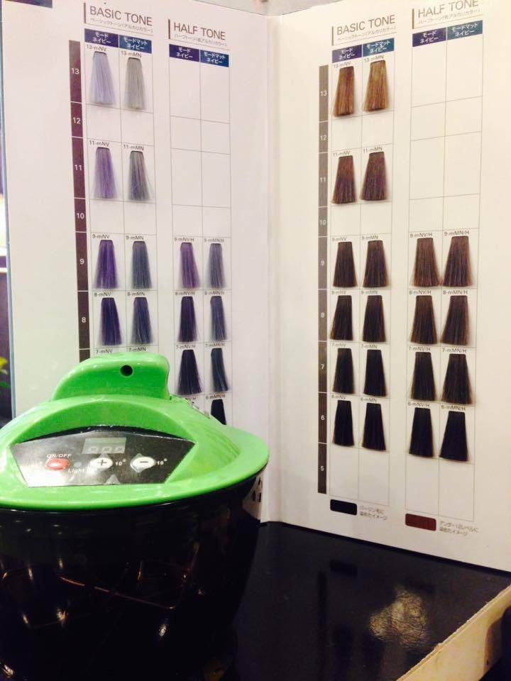 ป้ายราคาหรือสมุดเมนู ที่ ร้าน ร้านเสริมสวย Lilly Hair Spa ทวีกิจ ซุปเปอร์เซ็นเตอร์