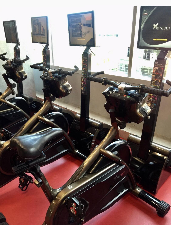 ชอบเครื่องออกกำลังกายนี้ ที่สุดเหมือนได้ขี่จักรยานจริงๆ