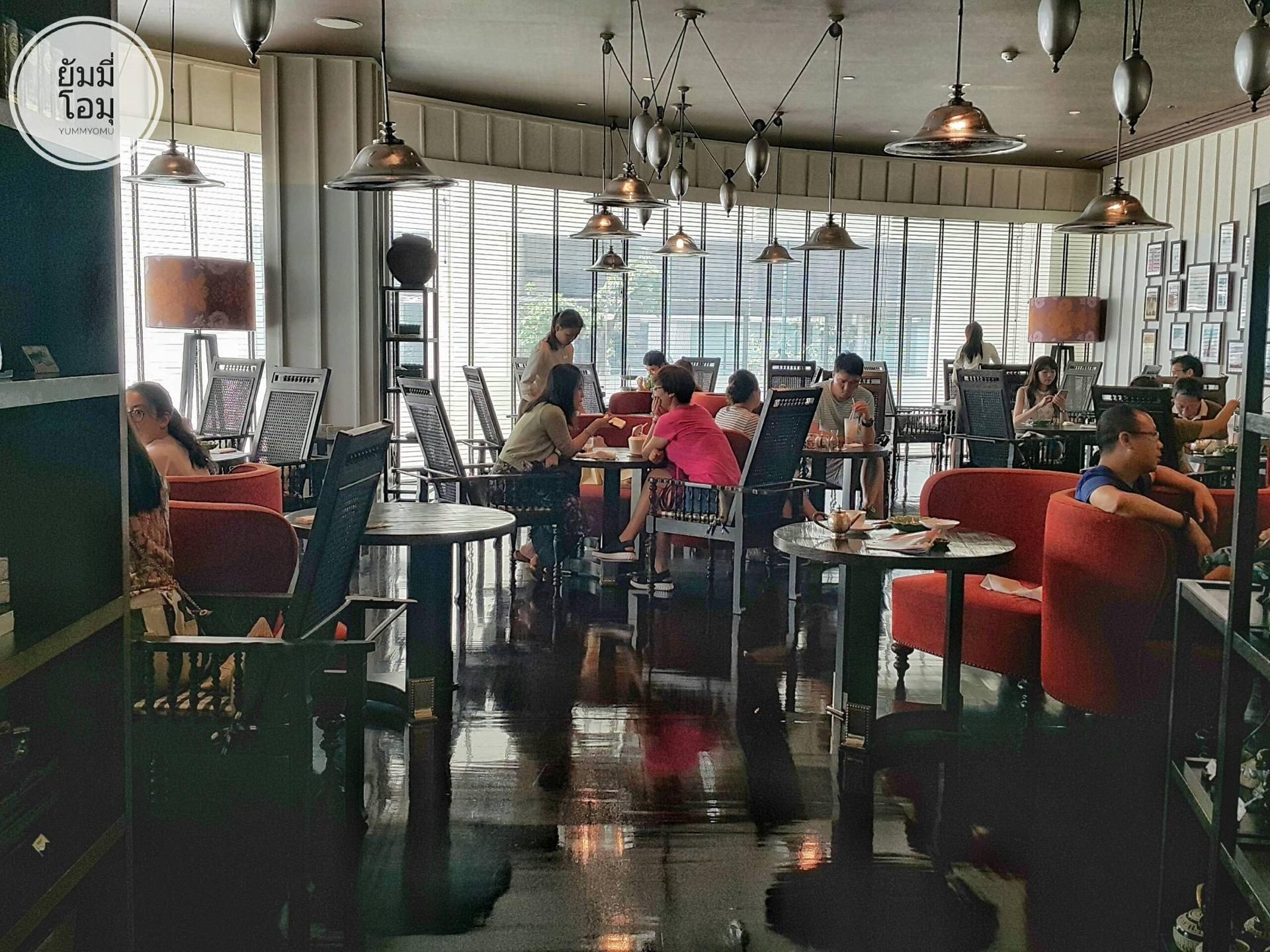 Erawan Tea Room โรงแรมแกรนด์ไฮแอทเอราวัณ