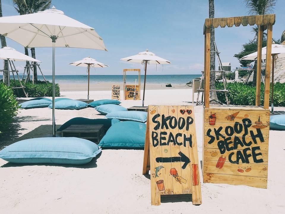 รีวิว Skoop Beach Cafe หัวหิน - บรรยากาศดี ไอติมอร่อย ร้านเก๋ - Wongnai