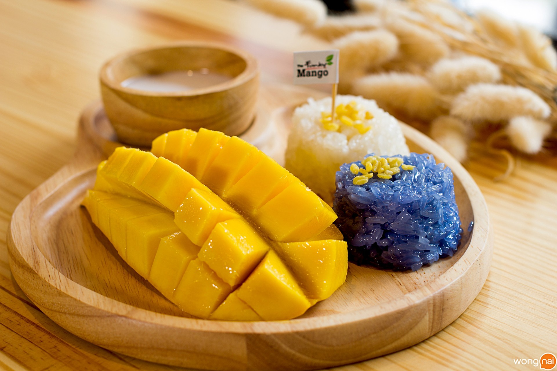 Mango Sticky Rice Set 1 ร้าน The Funky Mango หาดใหญ่