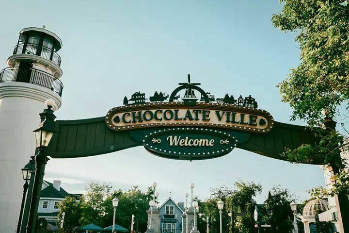 หน้าร้าน Chocolate Ville