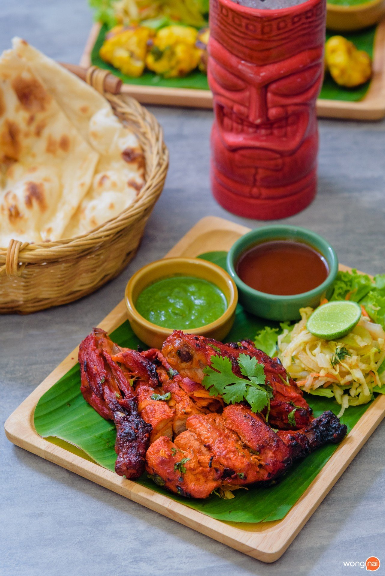 """เมนู """"Half Chicken tandoori"""" ของร้าน ในโซน Public House ของห้าง Central Festival Phuket"""