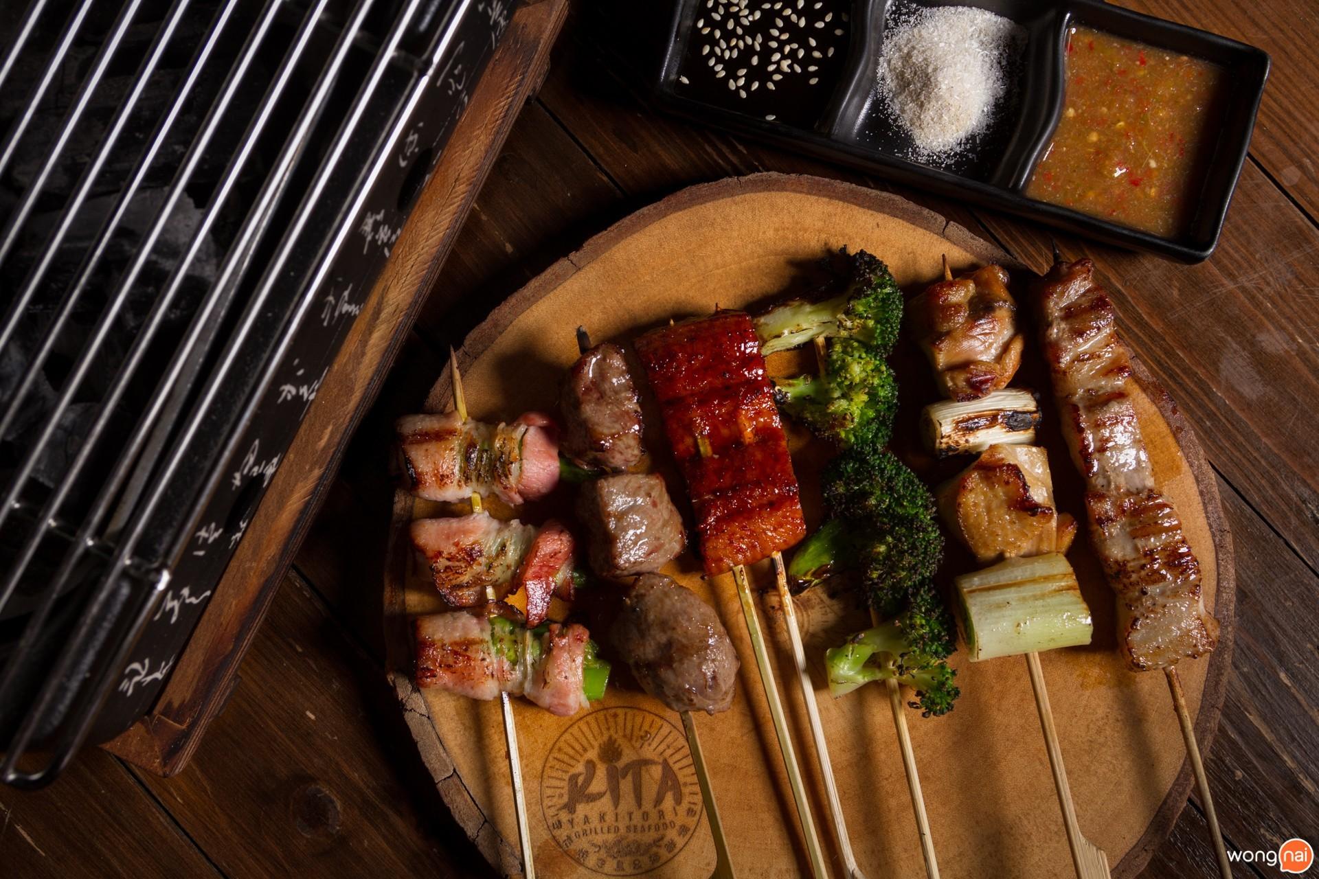 เมนู Yakitori ร้าน Kita Yakitori & Grilled Seafood เชียงใหม่