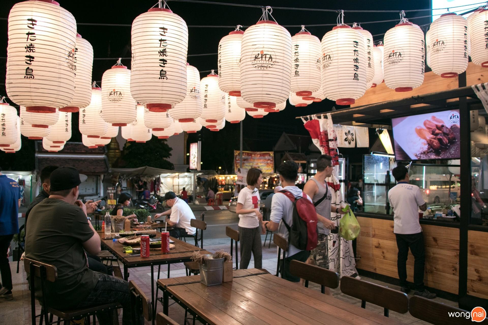 บรรยากาศ ร้าน Kita Yakitori & Grilled Seafood เชียงใหม่