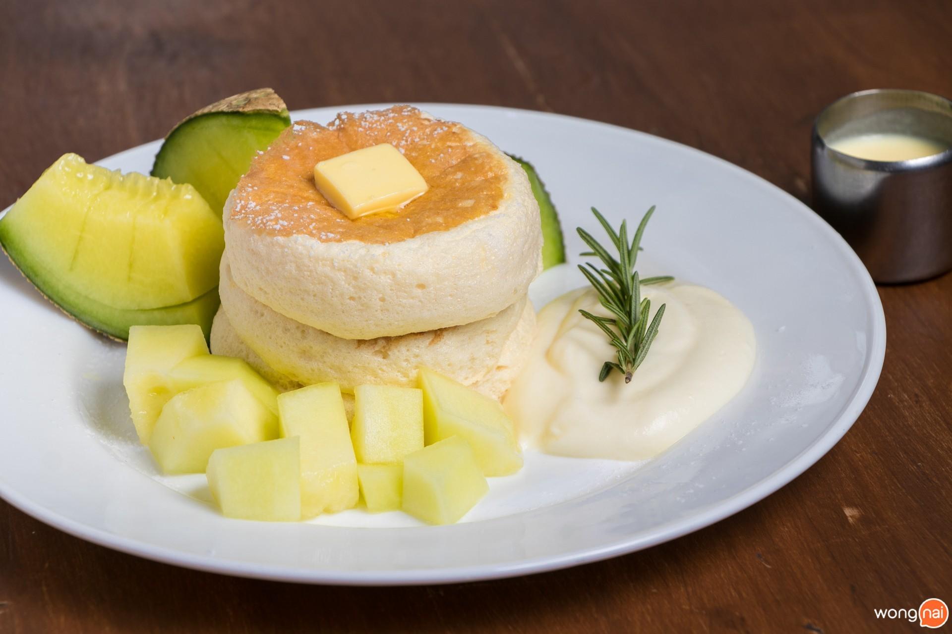 เมนู Kumo Pancake Souffle' ร้าน Sofuto Cream เชียงใหม่
