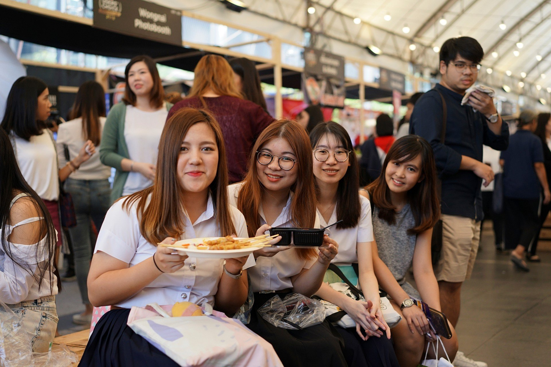 อาหารในงาน Wongnai Users' Choice Food Festival 2018