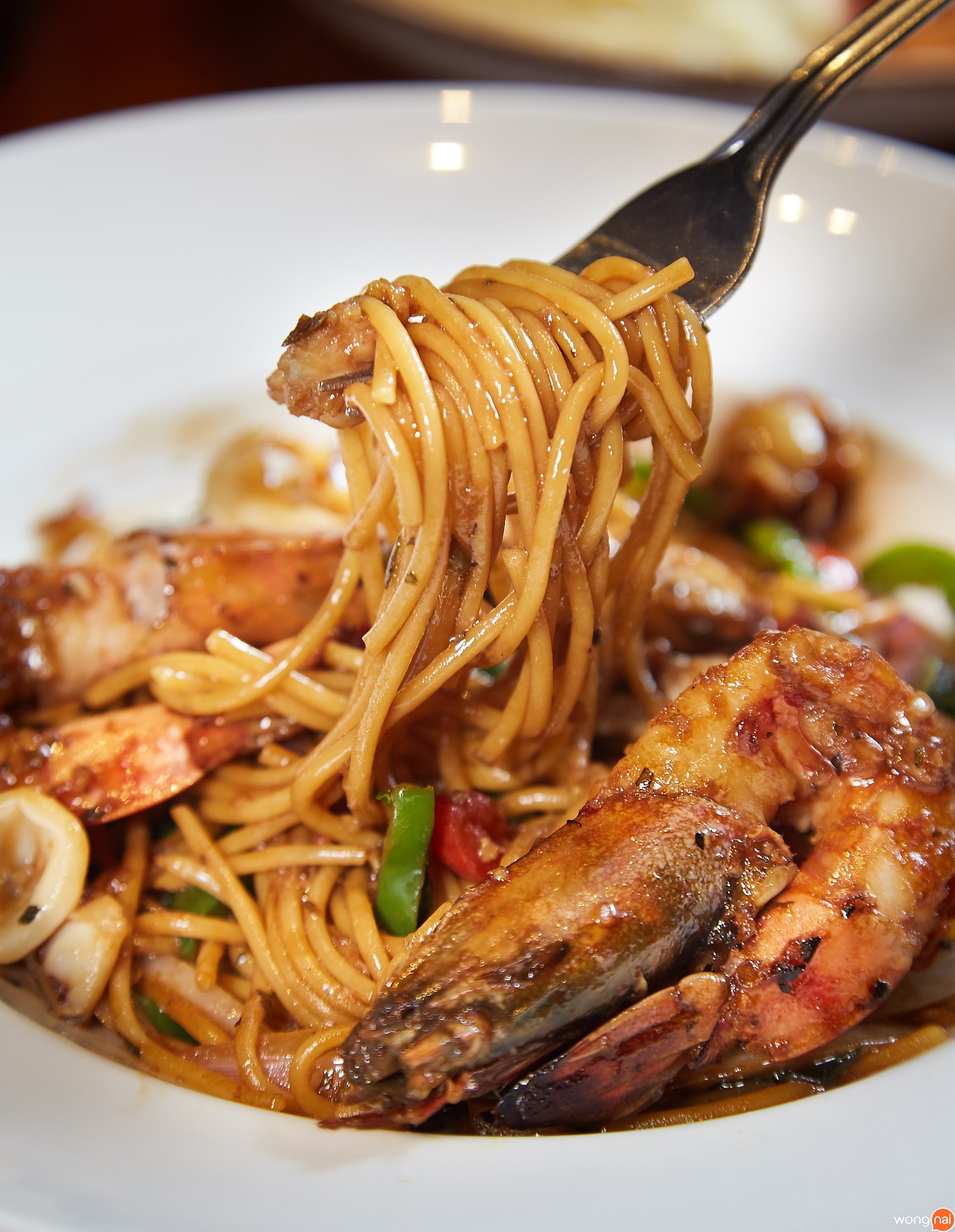 The Seafood Spaghetti Hard Rock Cafe pattaya