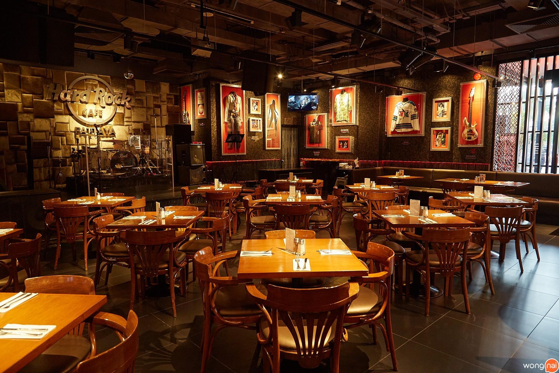 บรรยากาศ Hard Rock cafe pattaya