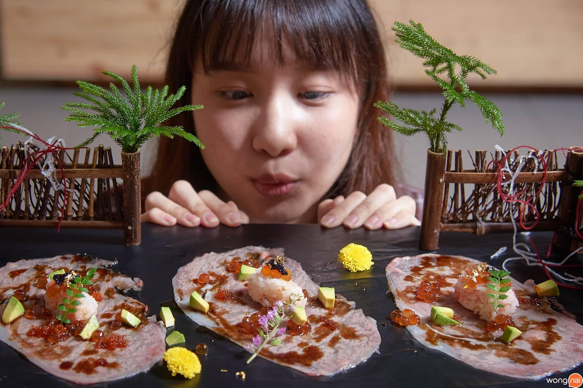 """Chef Wagyu Mentai Sushi"" ของร้าน Sushi Seki"