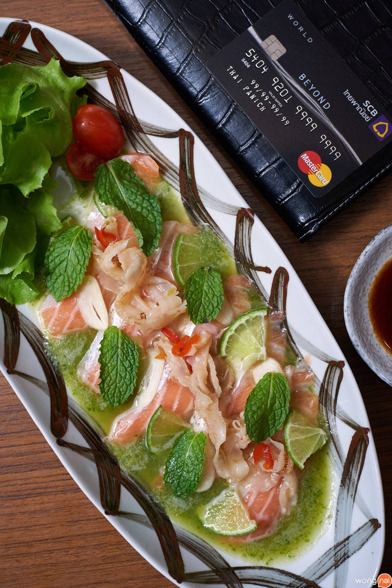 SALMON SPICY SEAFOOD Zen