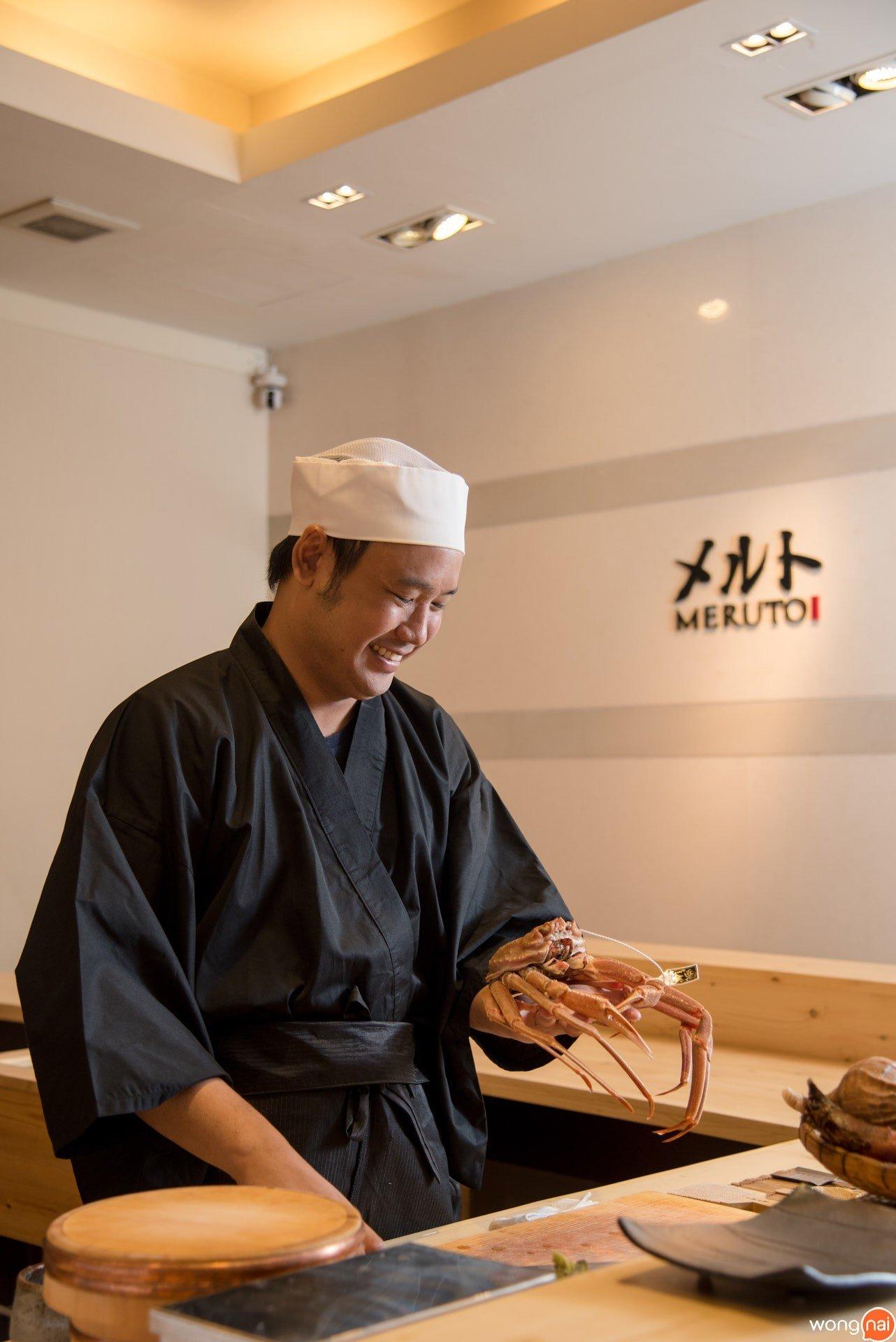 """บทสัมภาษณ์ของ """"เชฟอาร์ม - กีรติ บุตคีวงษ์"""" เจ้าของร้าน """"Meruto Sushi"""""""