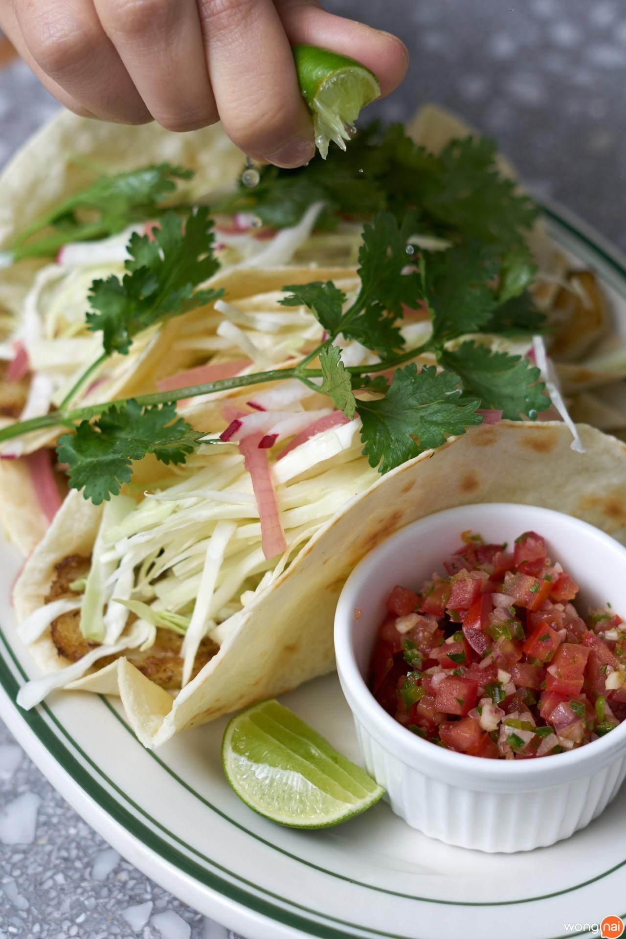 """Fish Tacos"" ร้าน ""Clinton Baking Street Bangkok"""