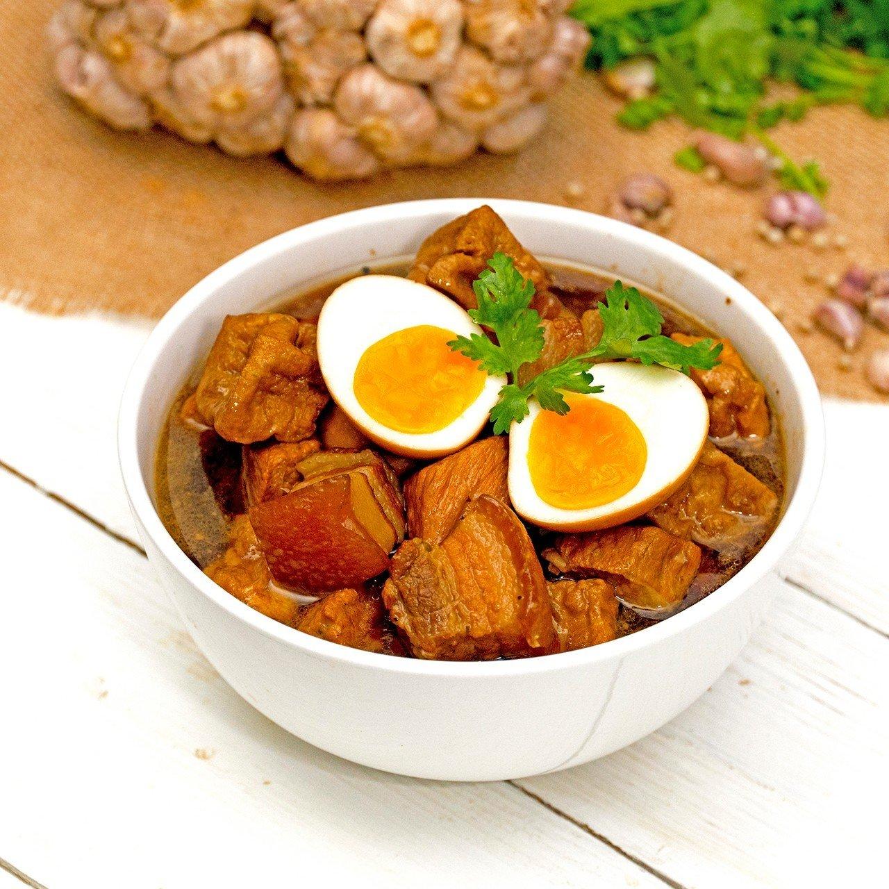 ไข่พะโล้ยางมะตูม