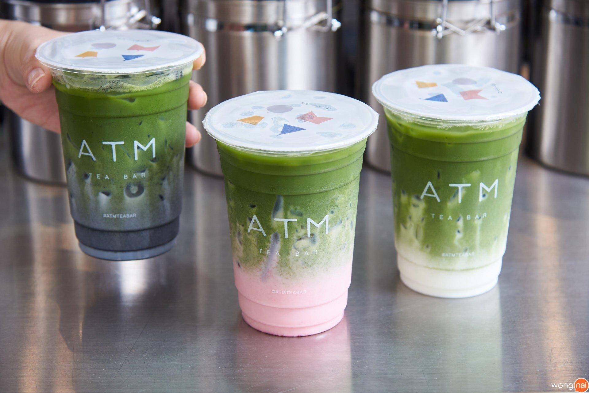 """Matcha Series"" ร้าน ""ATM Tea bar"""