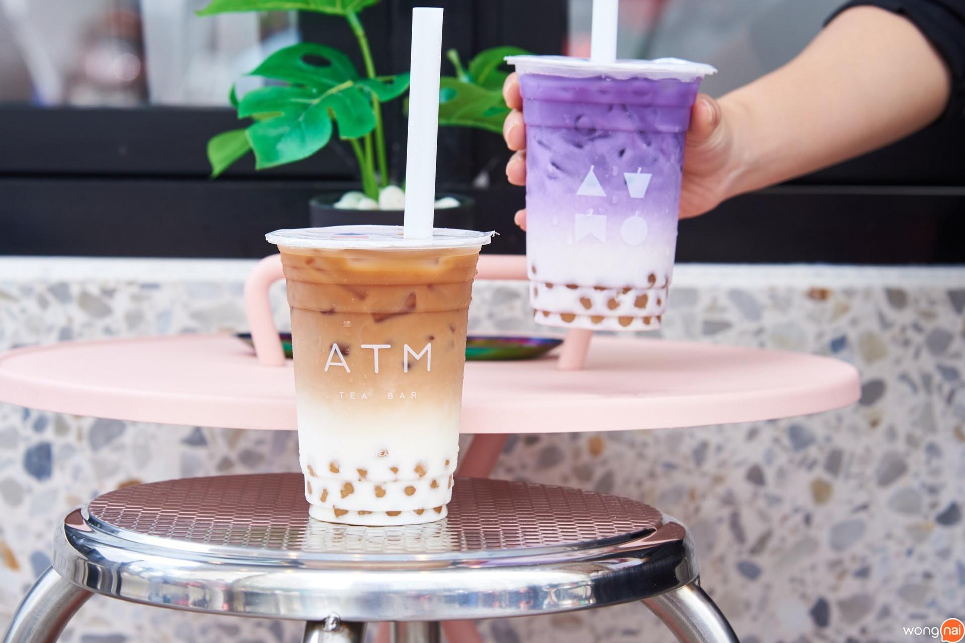 """Kumamoto Dream"" และ ""Taste Of Hokkaido""  ร้าน ""ATM tea bar"""