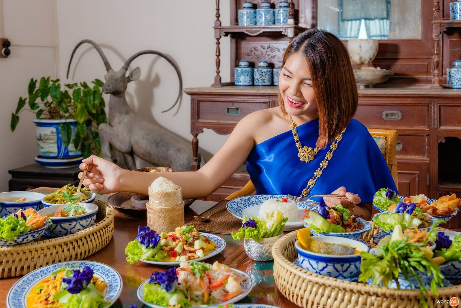 มื้ออาหารไทยที่  Panwa House แหลมพันวา ภูเก็ต