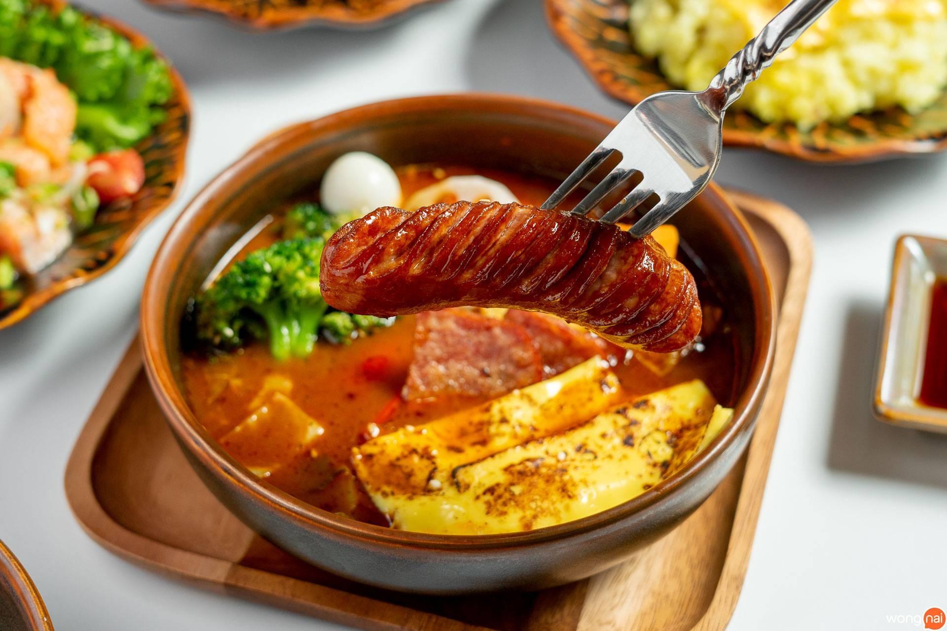 """เมนู """"ซุปแกงกะหรี่พรีเมียมซอสเซส"""" ของร้าน """"Garaku"""""""