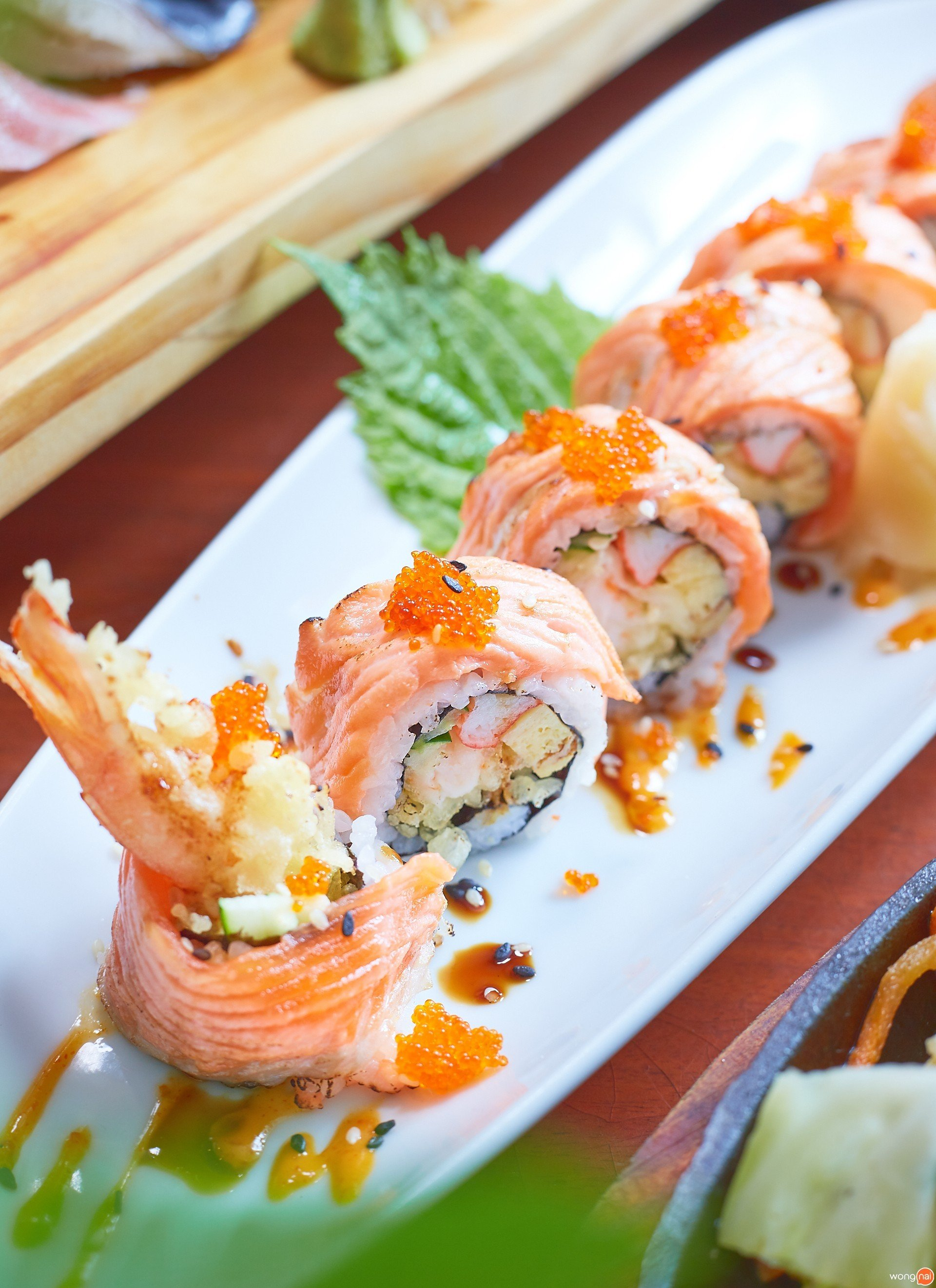 Special Salmon Roll