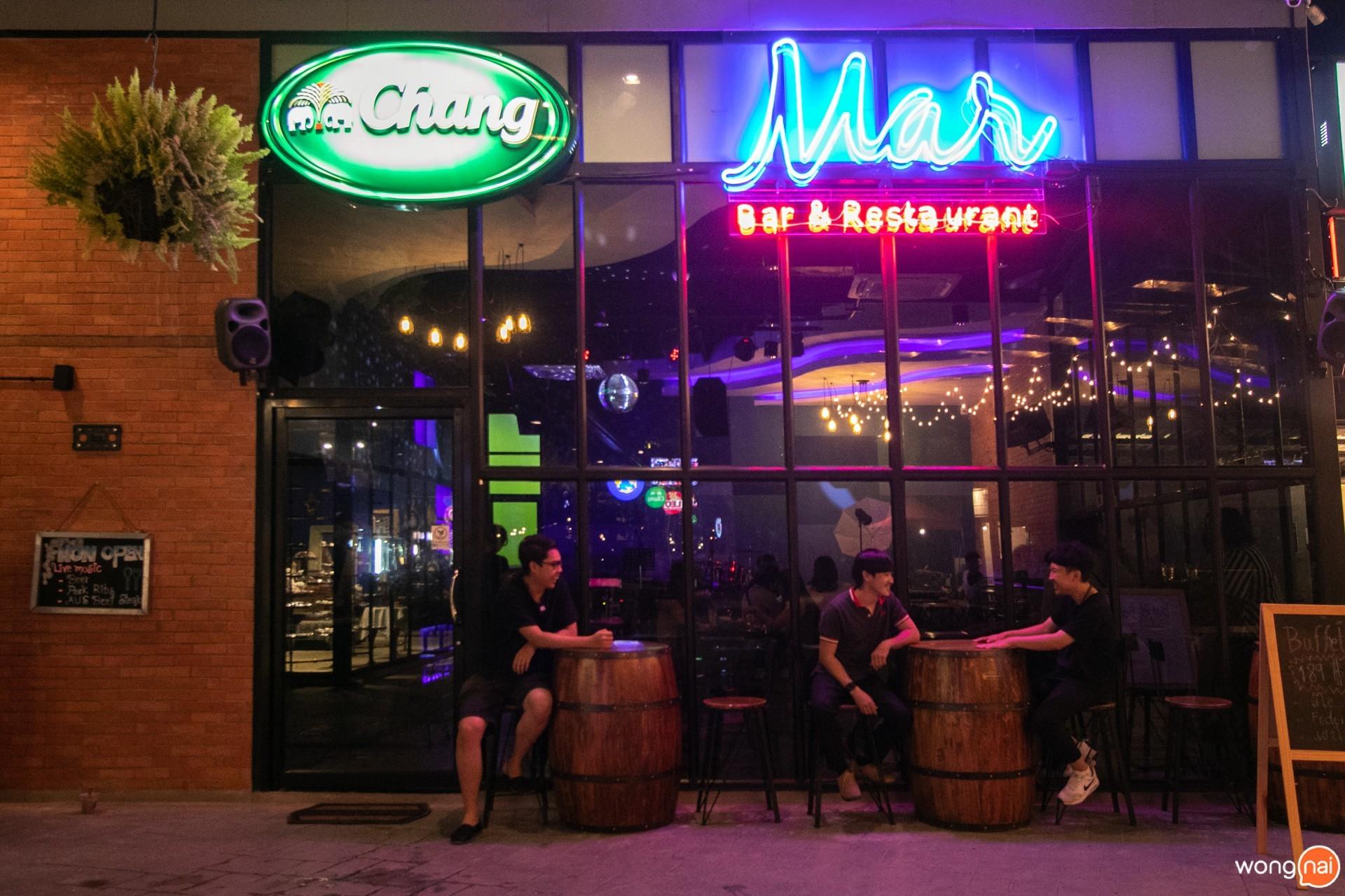 บรรยากาศร้าน Mar Bar & Restaurant เชียงใหม่