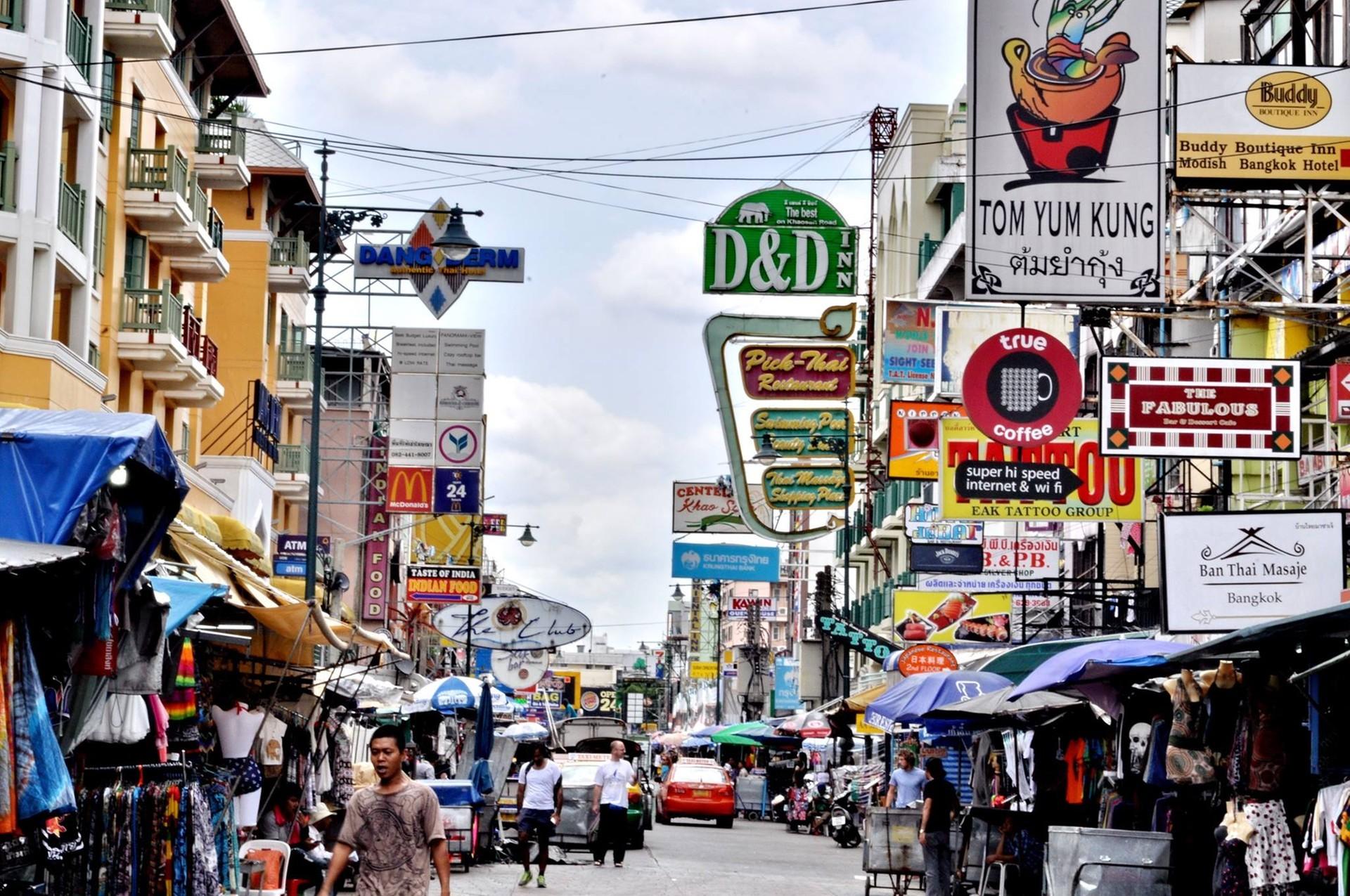 ร้าน ยอดนิยม ใน บายน พลาซ่า (ถนนข้าวสาร)
