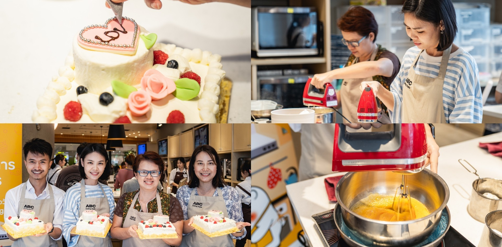 Wongnai Cooking Workshop พา User บอกรักคุณแม่ ด้วยเค้กวันแม่ <3