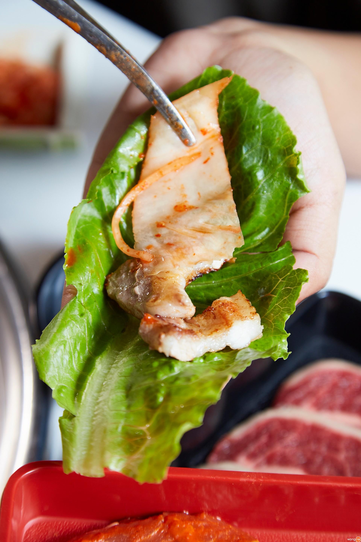 ห่อกับผักสไตล์เกาหลี