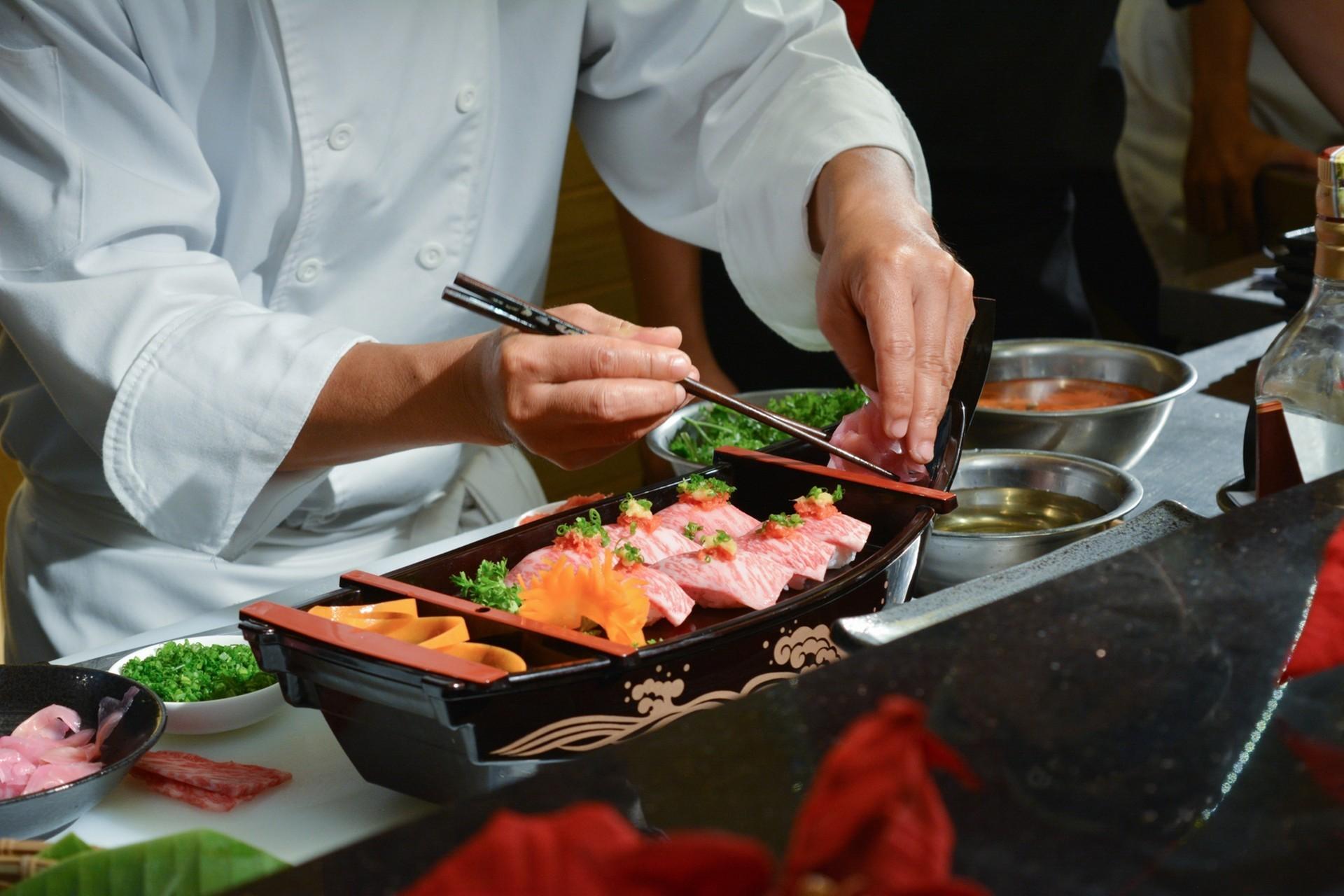japanese food chef
