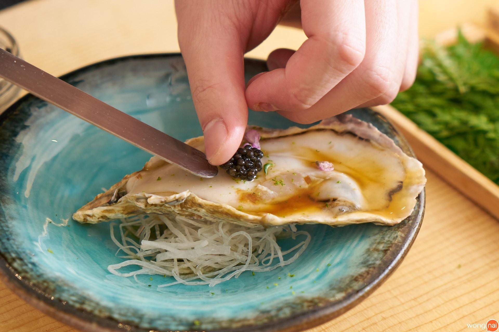 Hyoko Oyster ของร้าน Hon by Meruto
