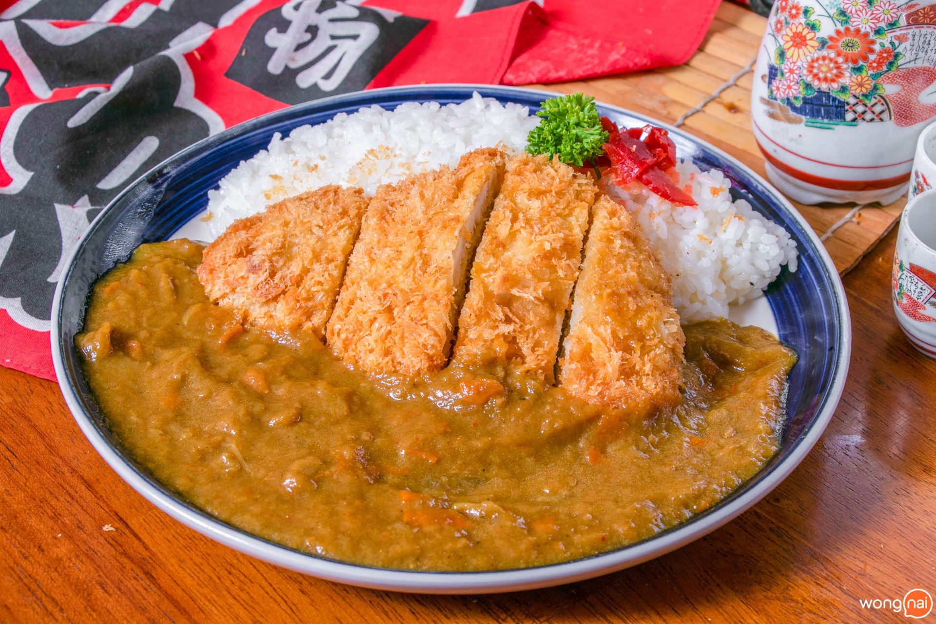 หมูทอดทงคัตสึ อาหารญี่ปุ่น ที่ Nimman Katsu เชียงใหม่