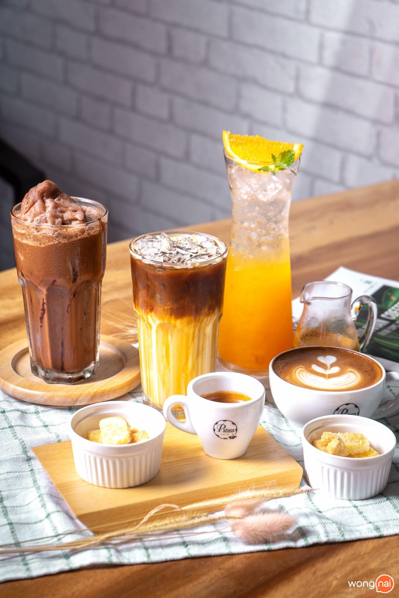 ร้าน Padaso Cafe ร้านกาแฟ หางดง อาหารตามสั่ง เชียงใหม่