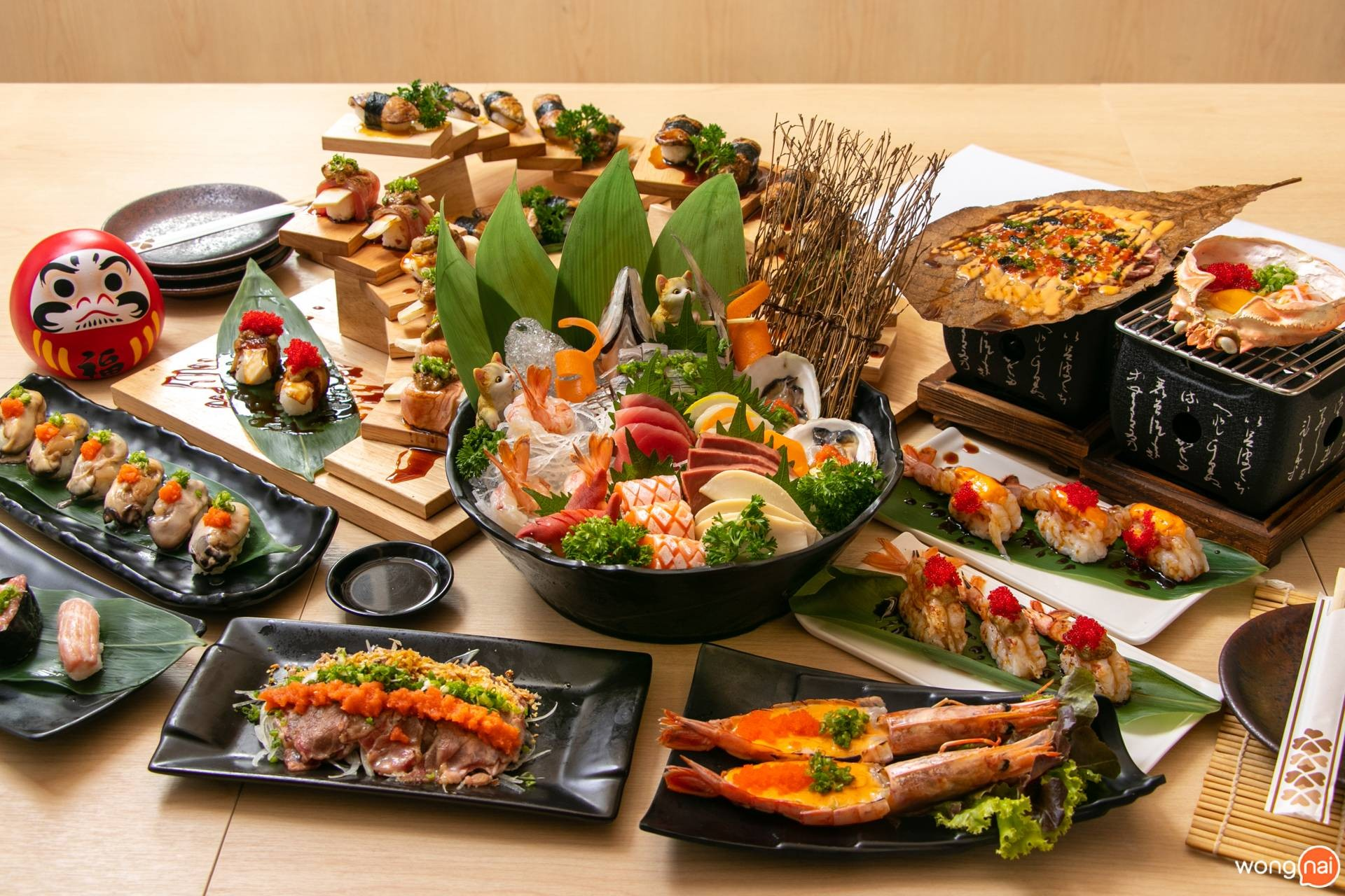 """เมนูของร้าน """"Jaiko Sushi Buffet"""""""