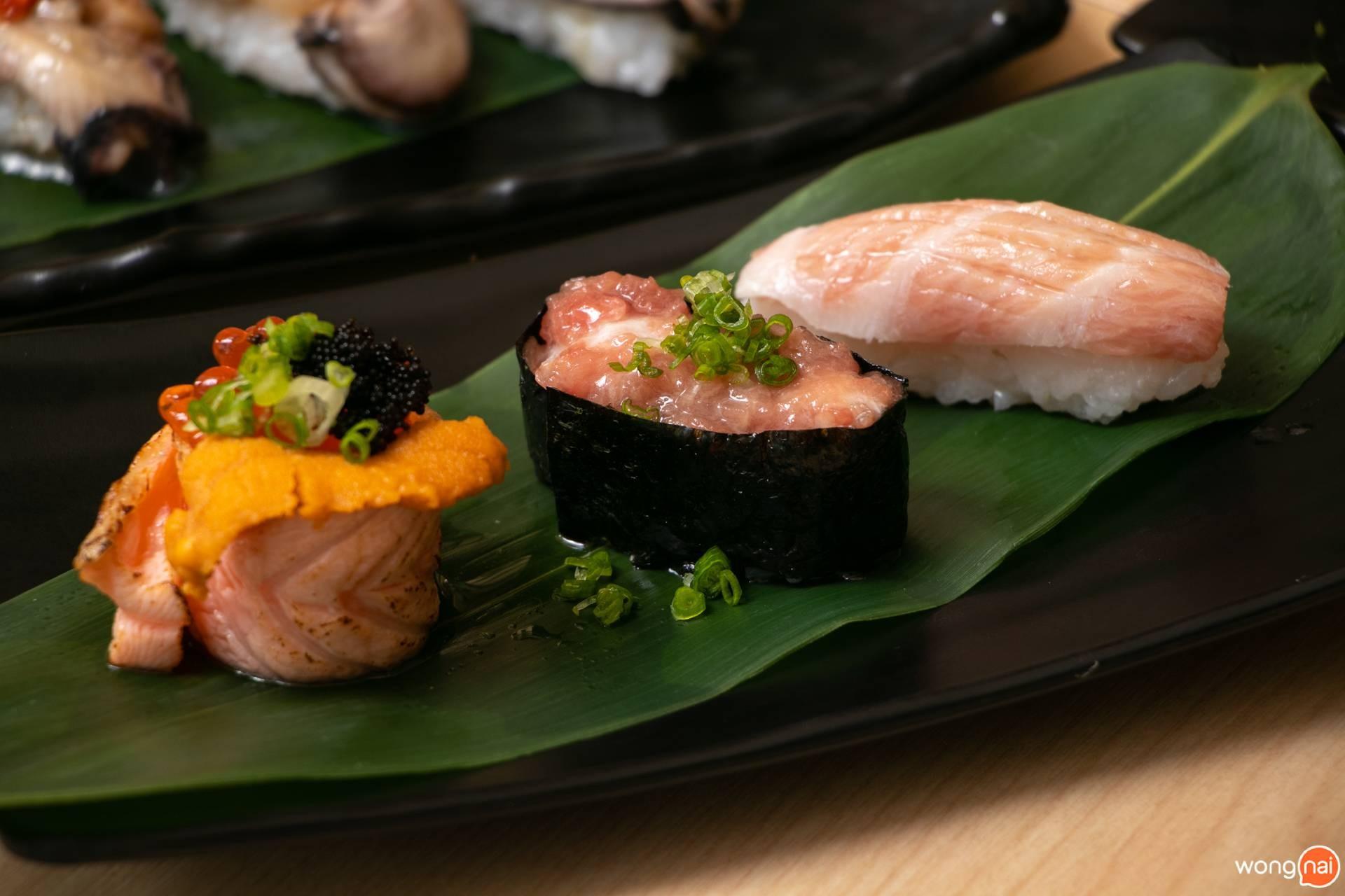 "Set Otoro ของร้าน ""Jaiko Sushi Buffet"""
