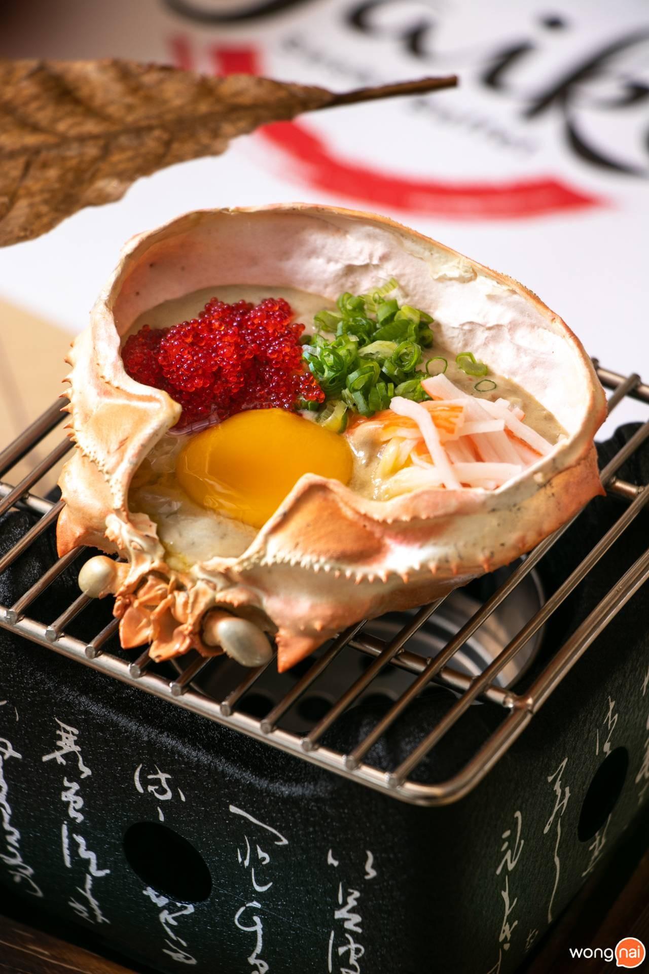"""Zuwai Kani Miso Yaki ของร้าน """"Jaiko Sushi Buffet"""""""