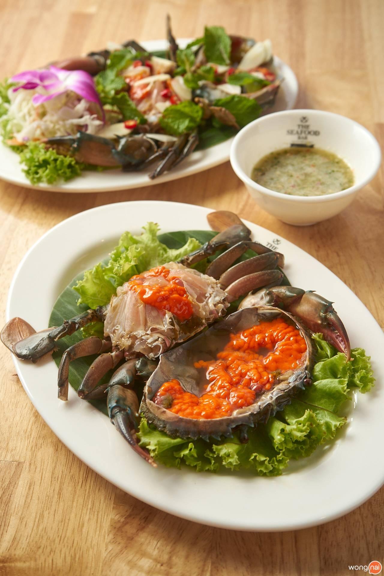 The Seafood Bar by ส้มตำคุณแดง ปูไข่ดอง