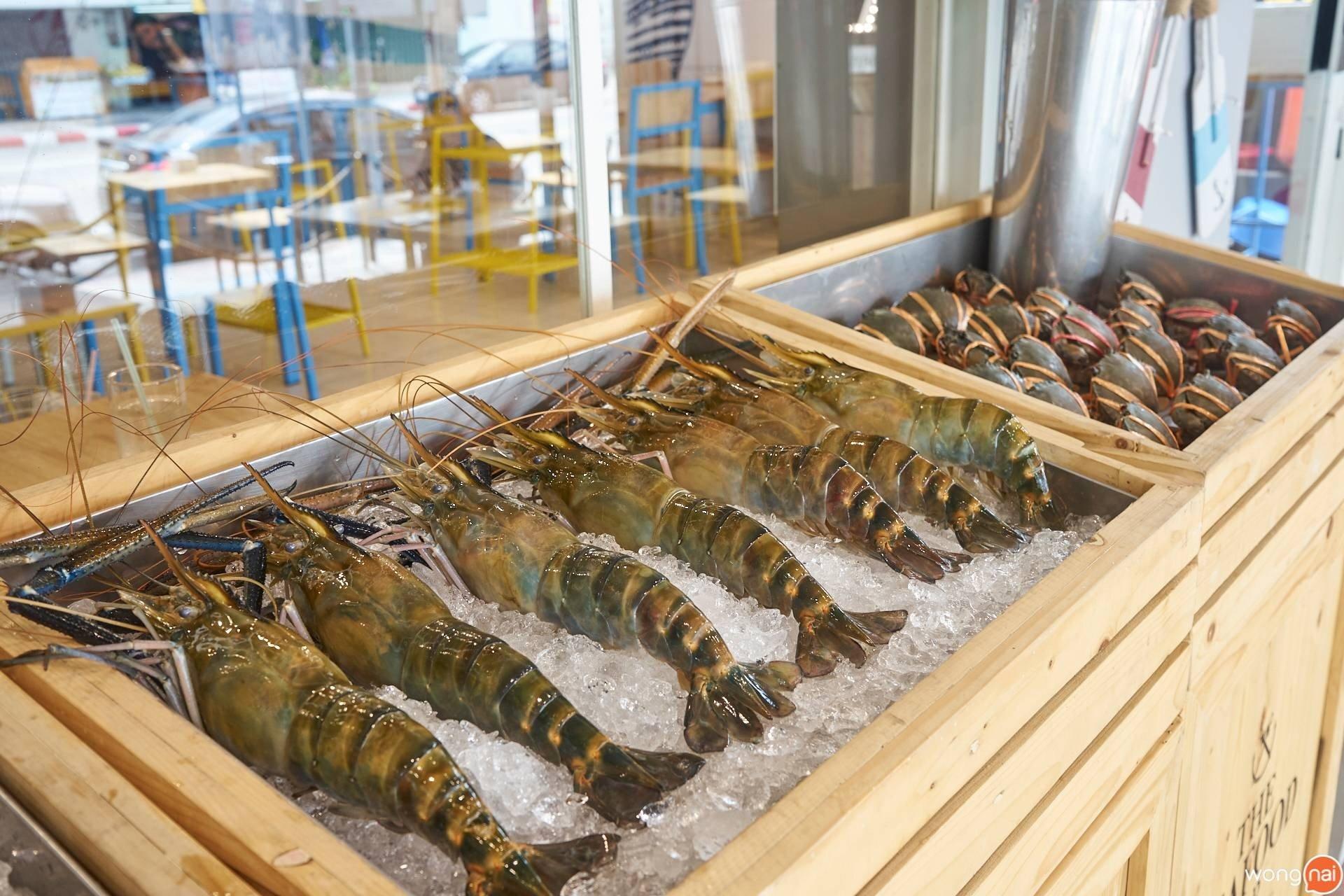 The Seafood Bar by ส้มตำคุณแดง