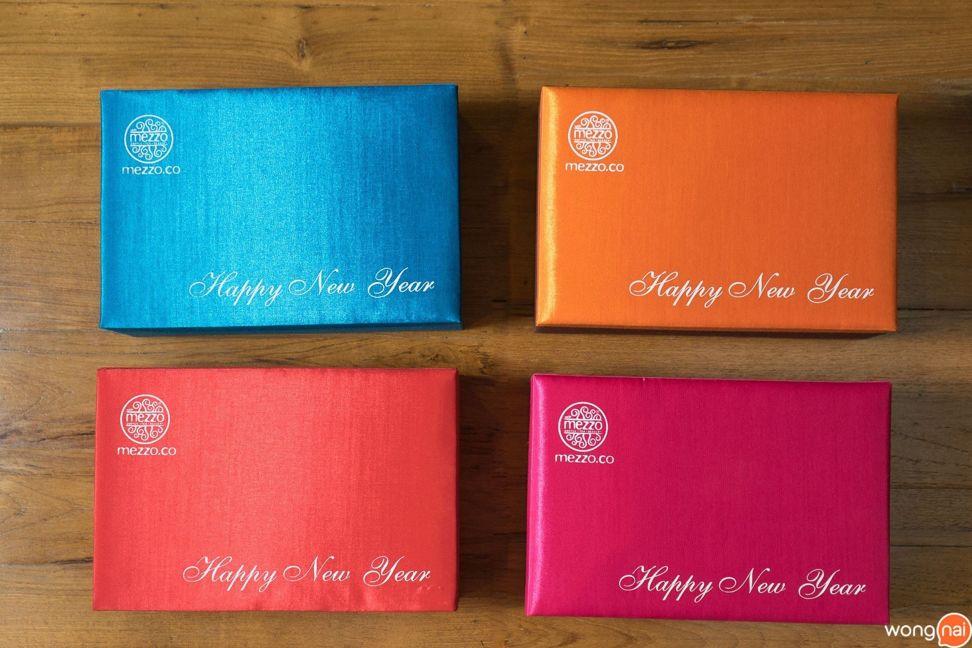 Cookies Silk Box Gift Set ของ ร้านกาแฟและเบเกอรี Mezzo Coffee