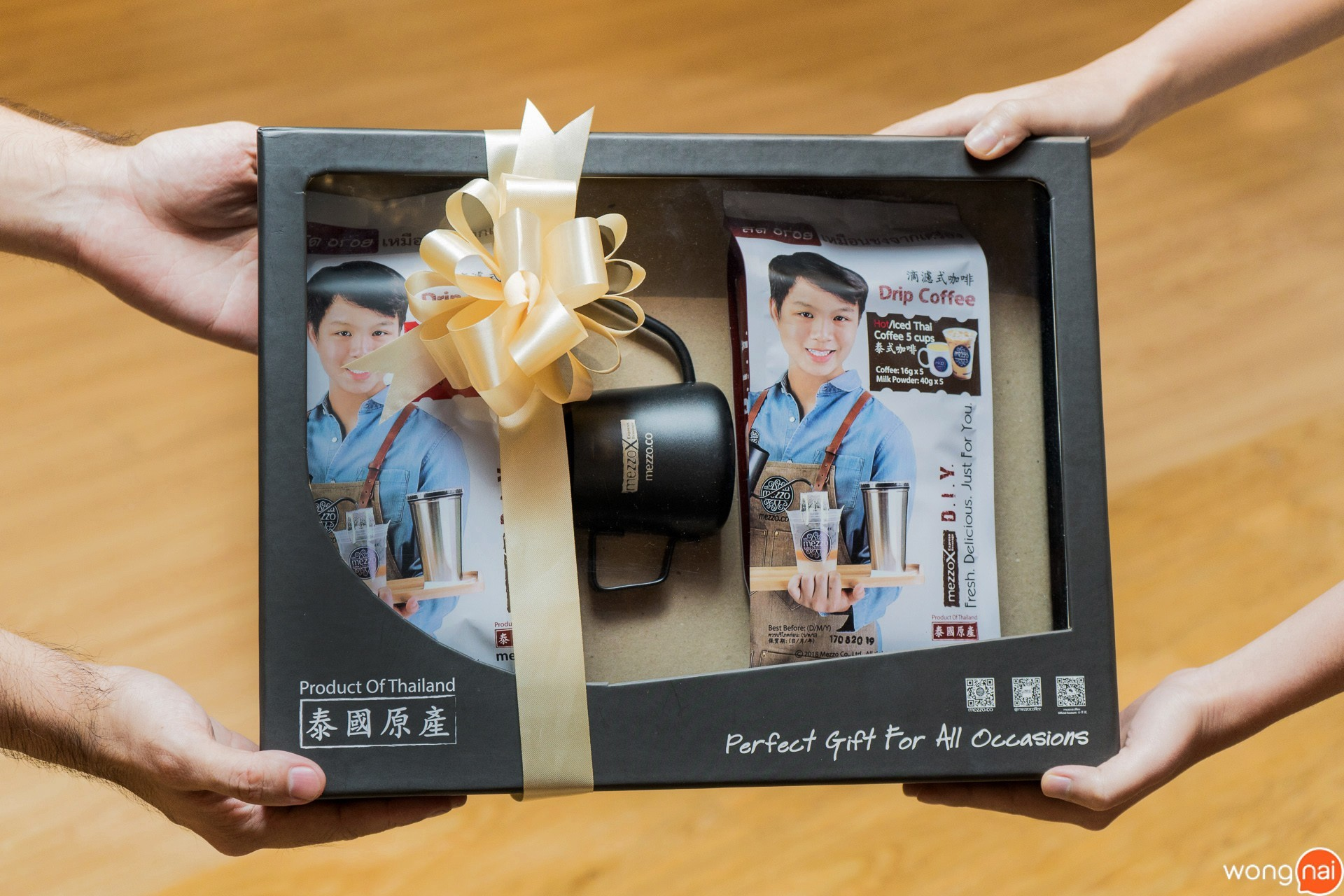 Drip Coffee Gift Set ของ ร้านกาแฟและเบเกอรี Mezzo Coffee