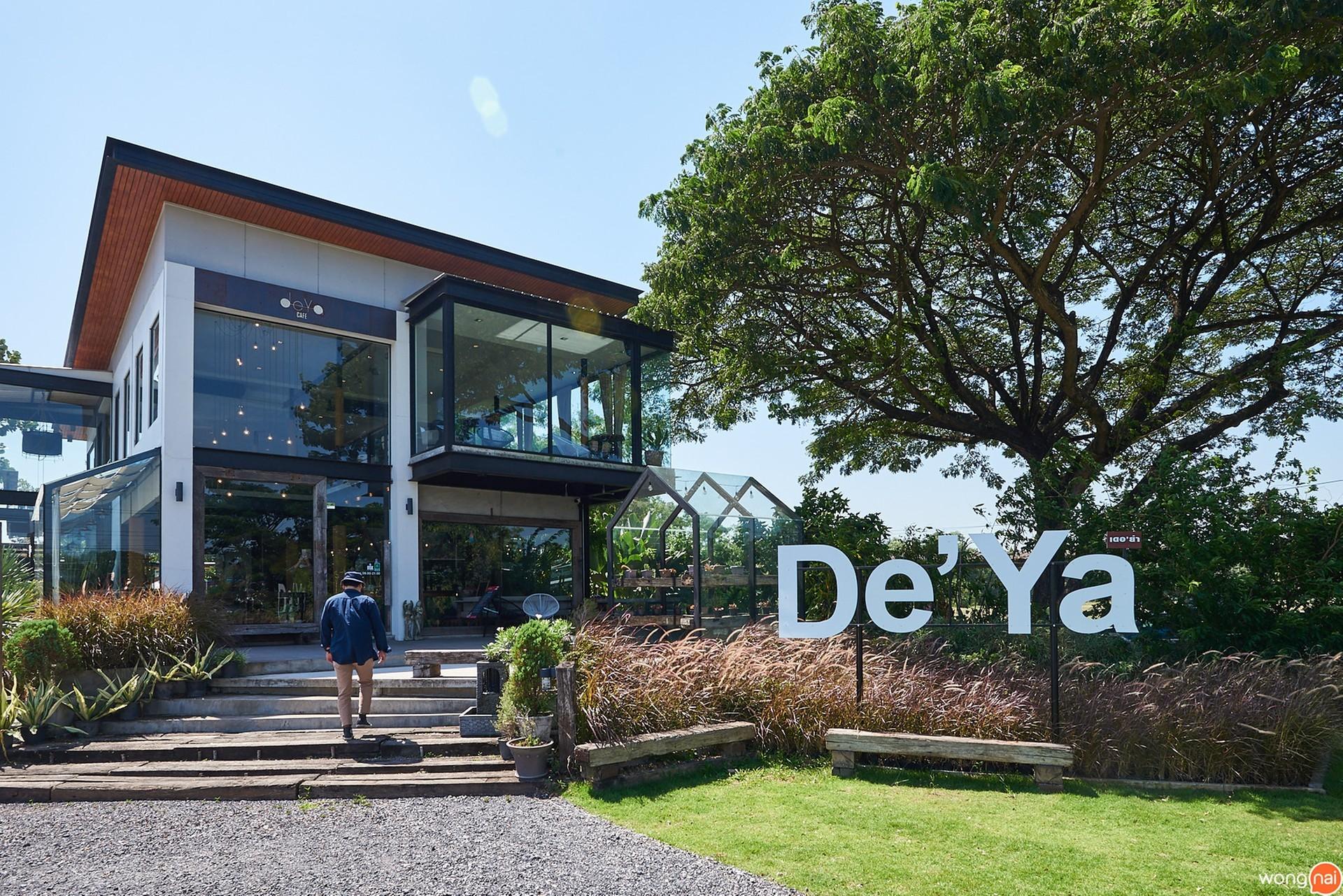 บรรยากาศ ร้าน Dé Ya Cafe