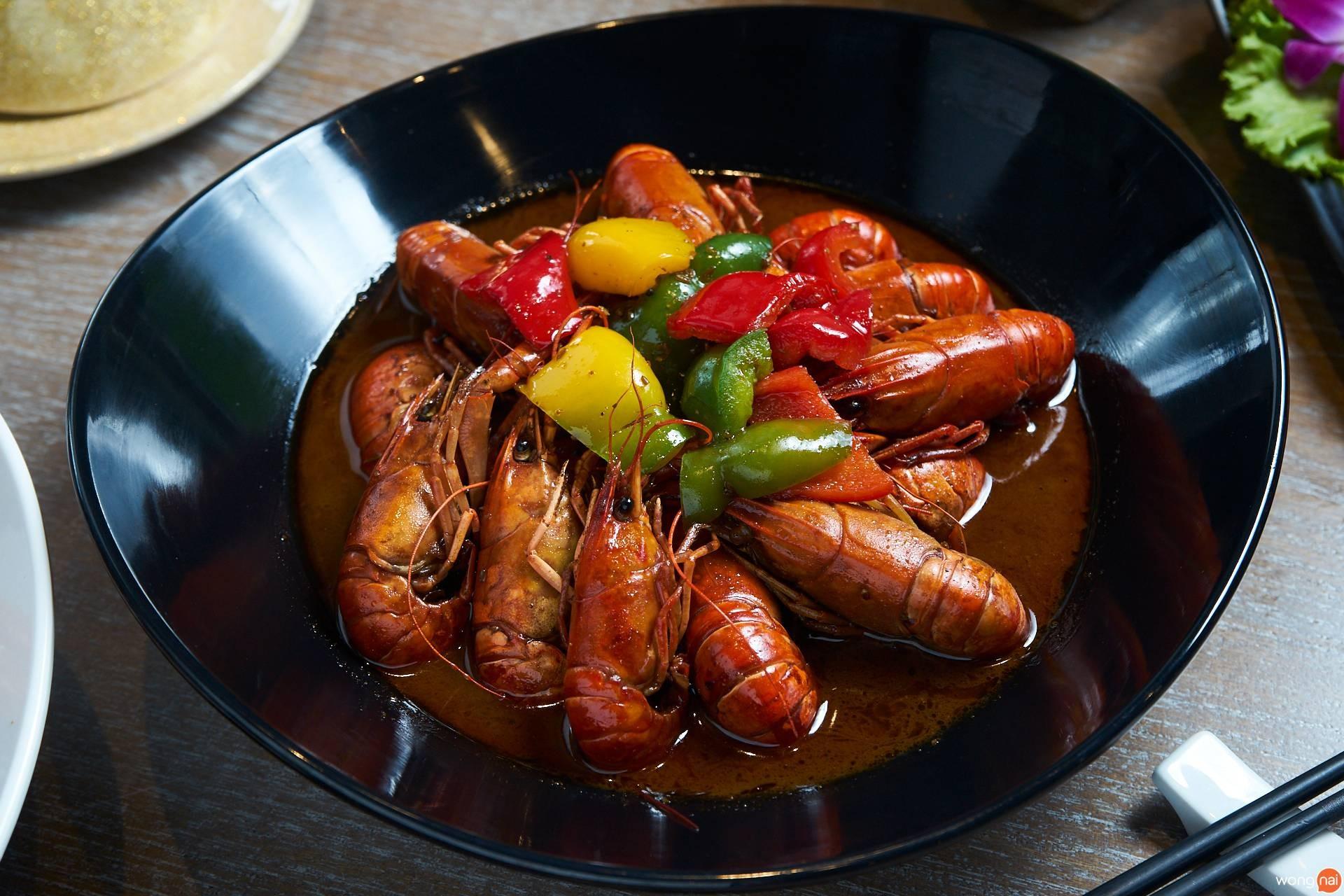 เมนูของร้าน Chubby Crayfish